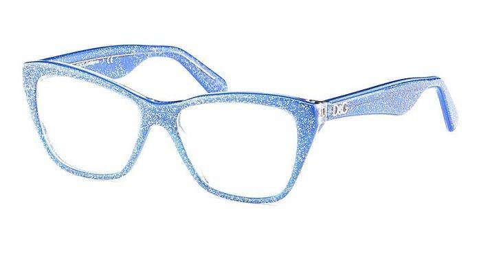 84eb80b02806 Dolce   Gabbana DG 3167 2741 Glitter Blue Eyeglasses