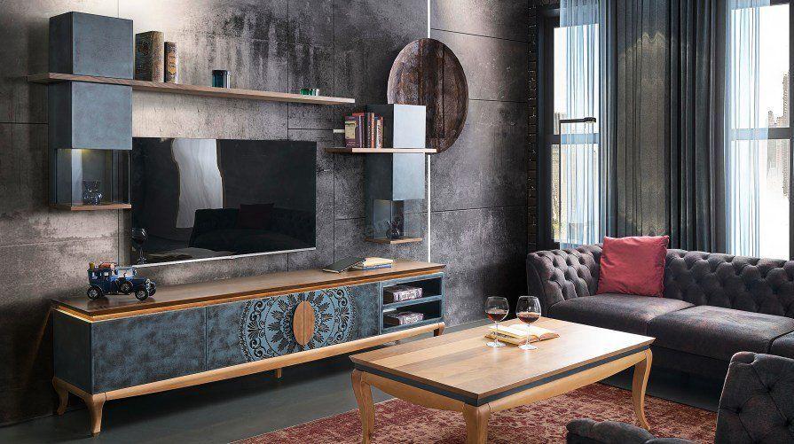 serenity vintage tv unitesi vintage tv furniture design living room tv