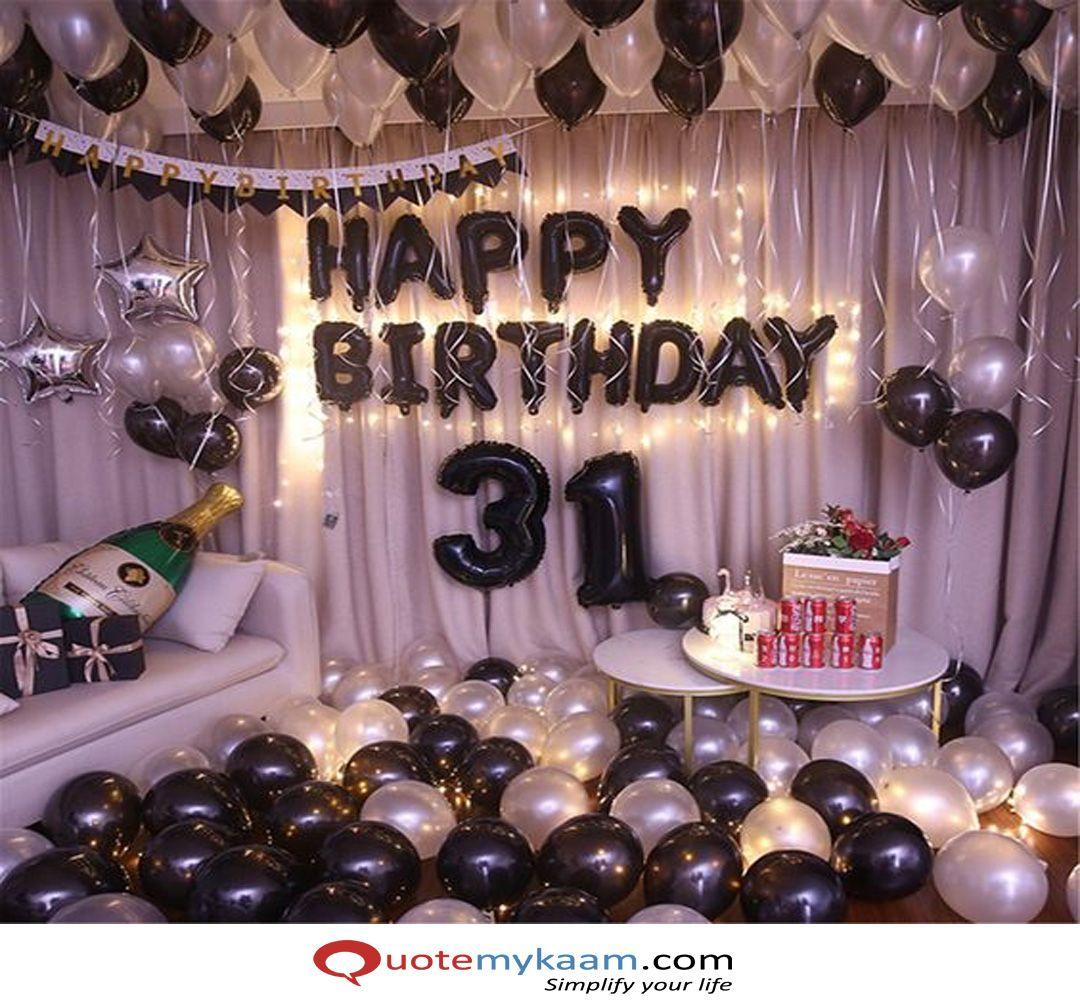 1000 Birthday Room Decoration Ideas Surprise Birthday Decoration Surprise Birthday Decorations Birthday Party Decorations For Adults Birthday Decorations