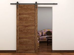 Modern European Style Steel Wood Sliding Barn Door Hardware Set Barn Door Hardware Sliding Barn Door Hardware Barn Door