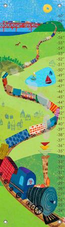 Choo Choo Train Growth Chart Oopsy Daisy Growth Chart
