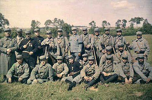 French Soldiers Aka Poilus From The 77th Infantry Regiment 1915 World War I World War German Army