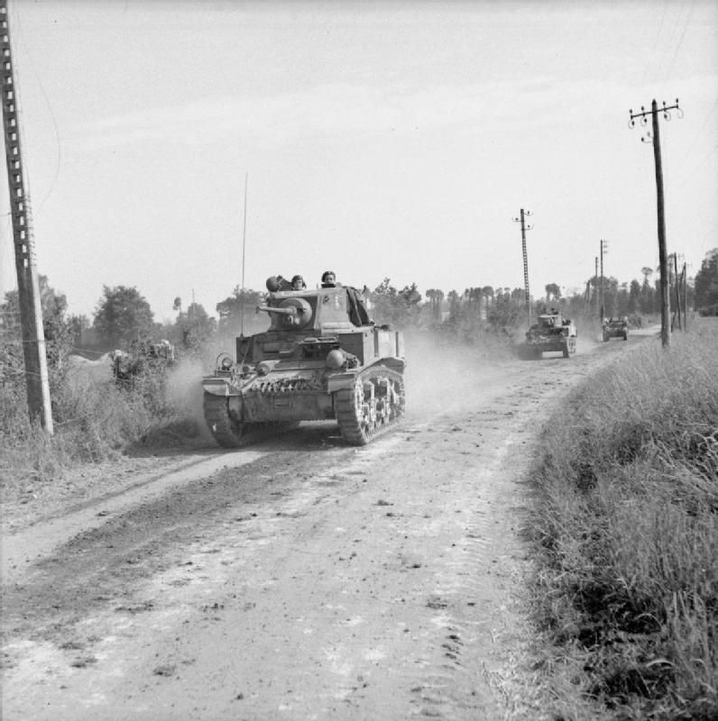 The British Army in the Normandy Campaign 1944 B7560 - Category:World War II forces of Britain in France - Wikimedia Commons