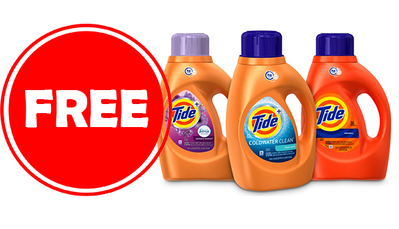 Get Free Tide Laundry Detergent Every Week With This Hack