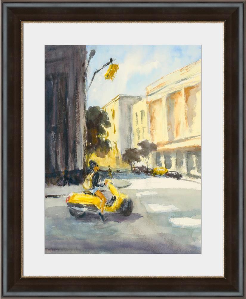 Yellow Moped - 40\