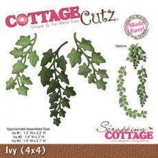 *Pre-Order CottageCutz Dies - Ivy- 4x4 (1 die)