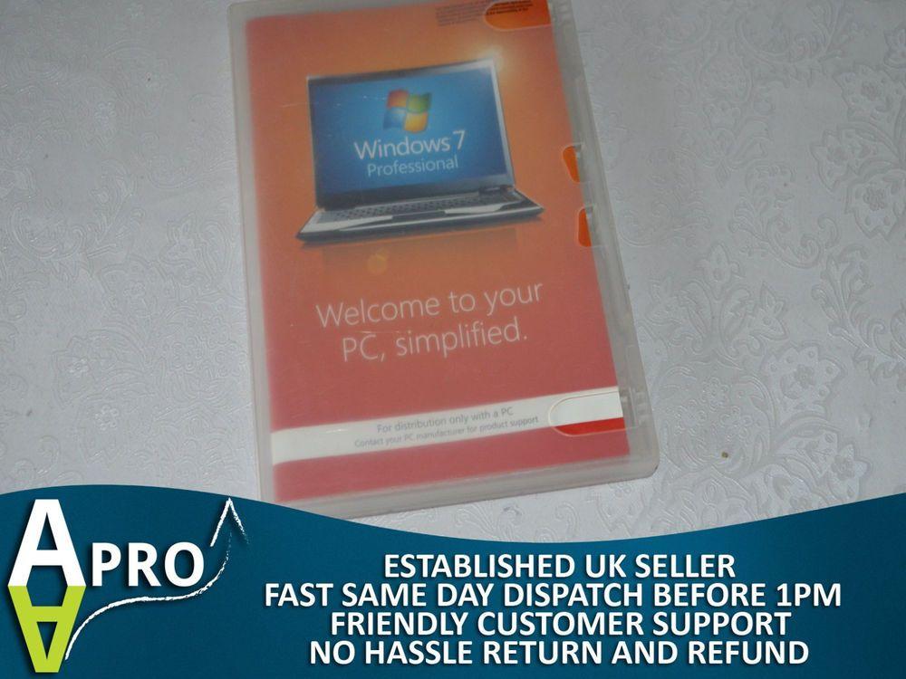 microsoft windows 7 professional cd