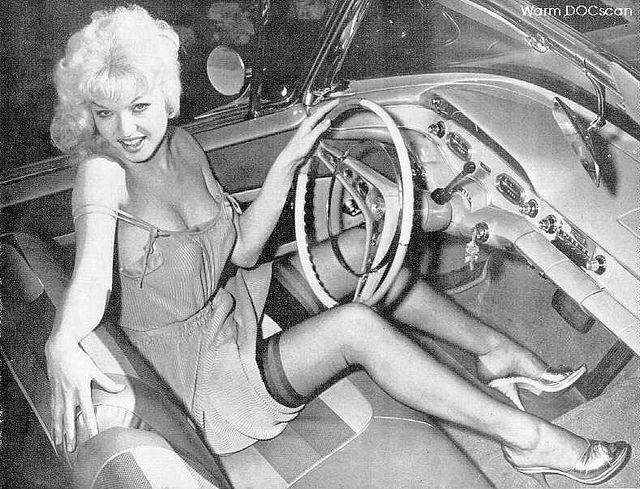 Elmer Batters Girl in Car