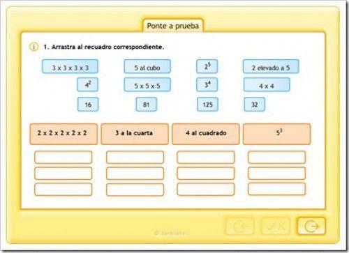 Tema 2 Potencias Y Raíz Cuadrada Raiz Cuadrada Secundaria Matematicas Tema