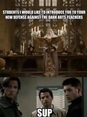 Angels Hunters And Wizards Oh My Chapter 14 A Harry Potter Supernatural Crossover Fanfic Fanfiction Supernatural Funny Supernatural Memes Supernatural