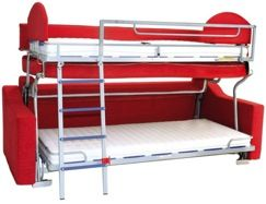 Single Collapsible Bunk Bed 48750106 At Richelieu Hardware Reese