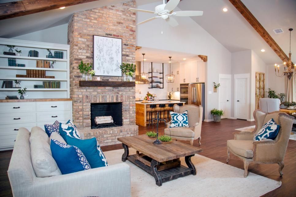 Fixer upper a ranch home update in woodway texas attic for How tall is chip gaines fixer upper