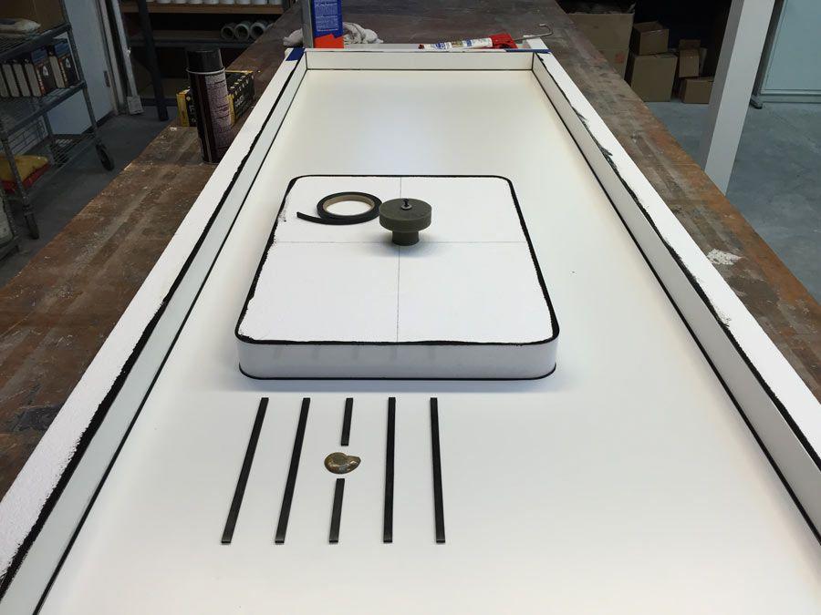Concrete Countertop Casting Demo Concrete Countertops Diy