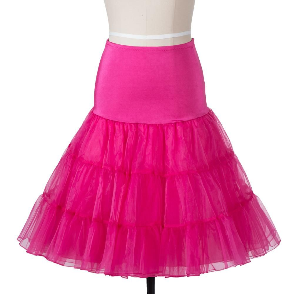 SISHION Tutu Skirt Swing Rockabilly Petticoat Underskirt Crinoline ...