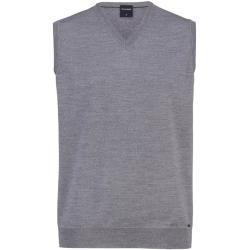 Photo of Olymp knit pullover, modern fit, silver gray, S Olymp
