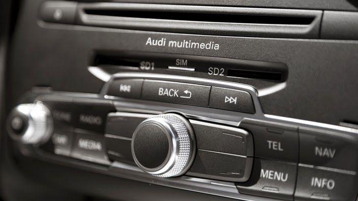 Audi interior carros novos
