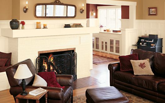 Wall Colors We Love For The Living Room Easy Craftsman Browns