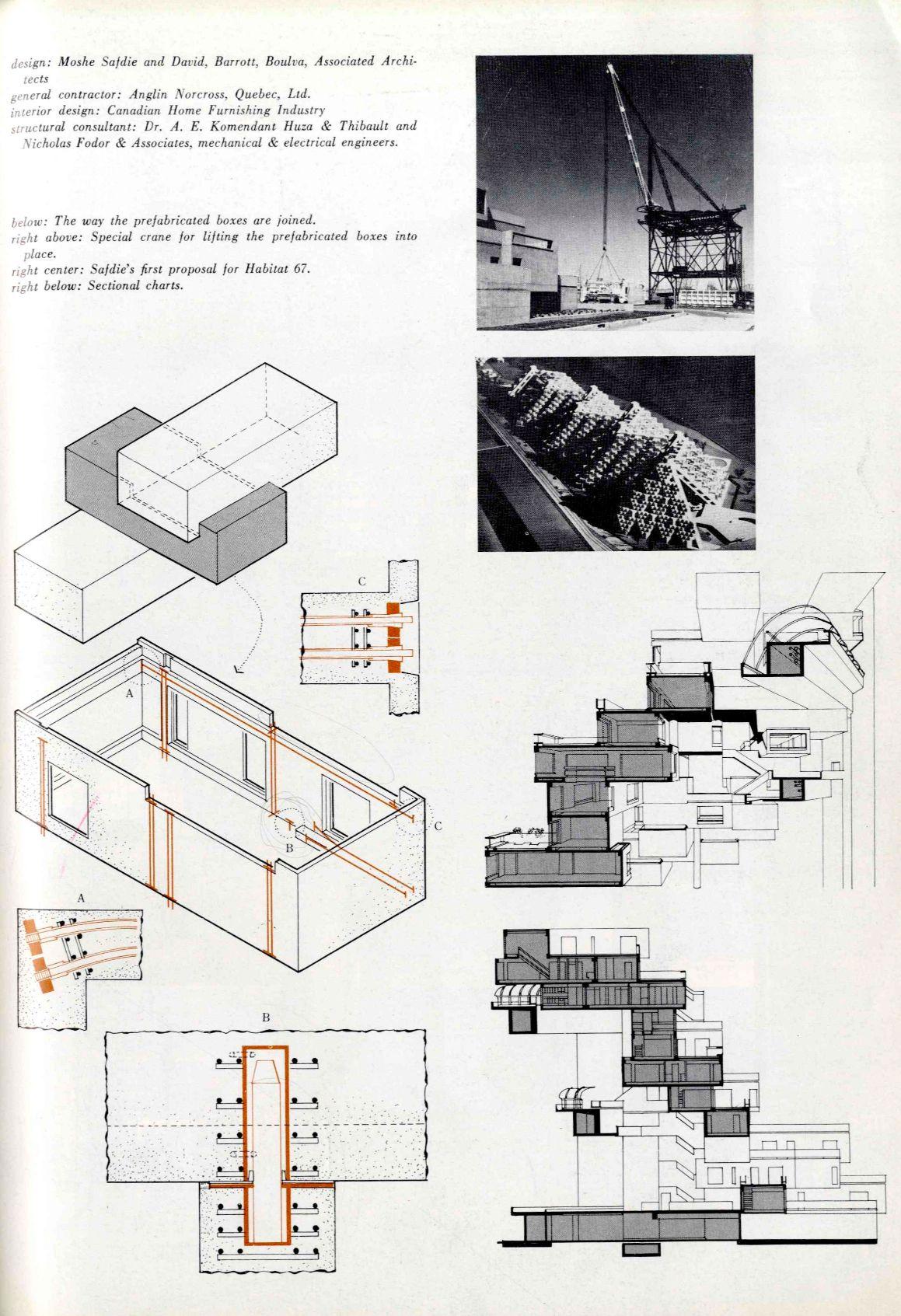Moshe safdie habitat 67 montreal canada 1967 my for Landscape architecture canada