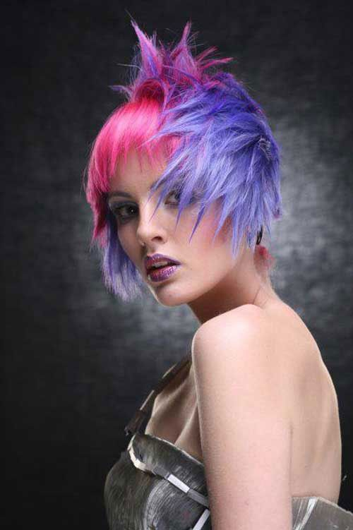 49 Funky Color Idea For Super Short Hairstyles Cool