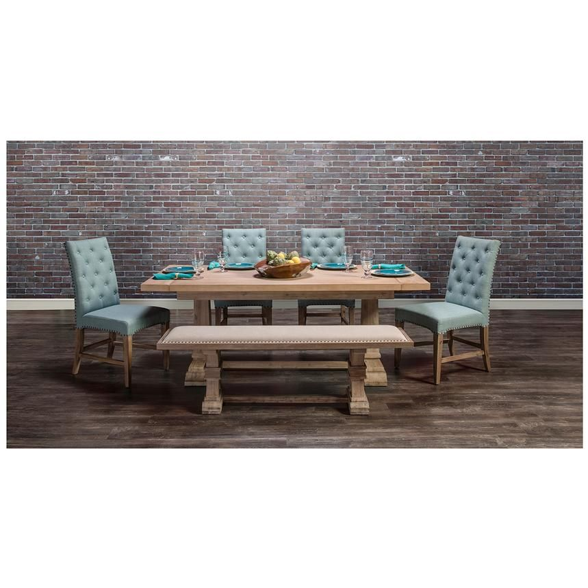 Hudson Beltran 5 Piece Formal Dining Set El Dorado Furniture
