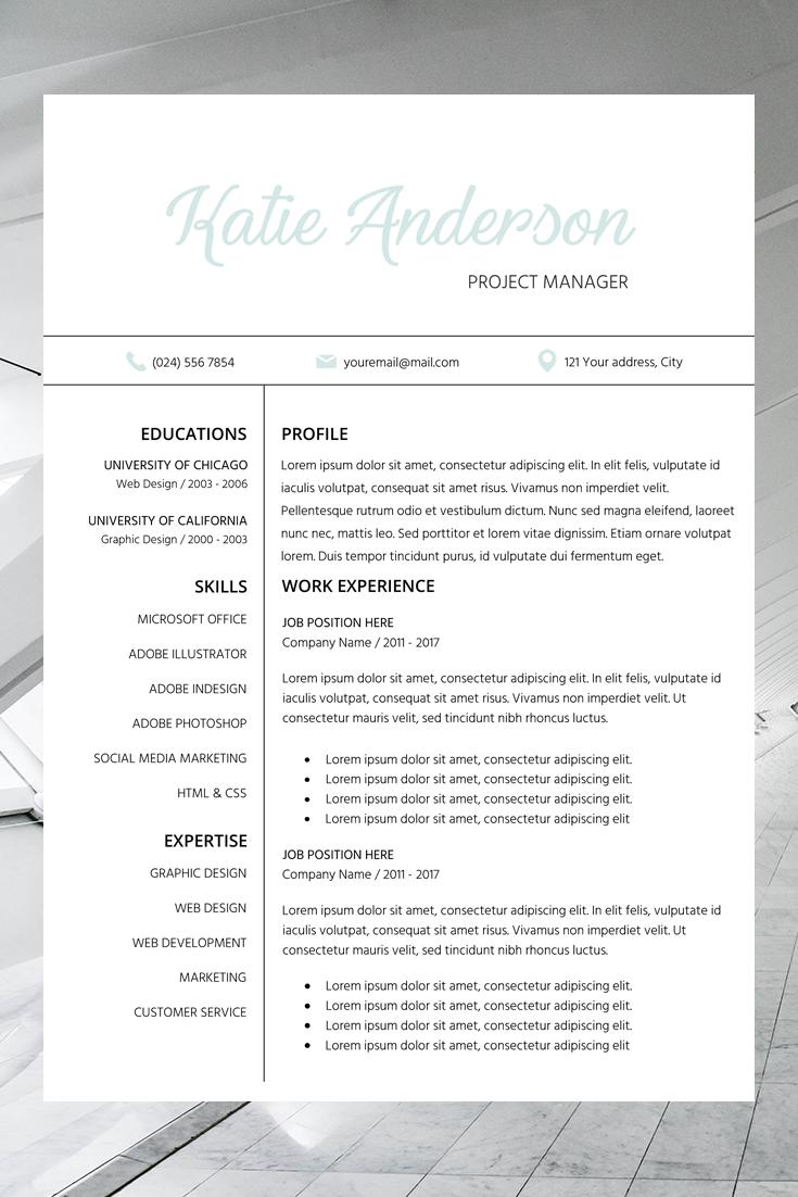 resume templates word professional looking resume cv