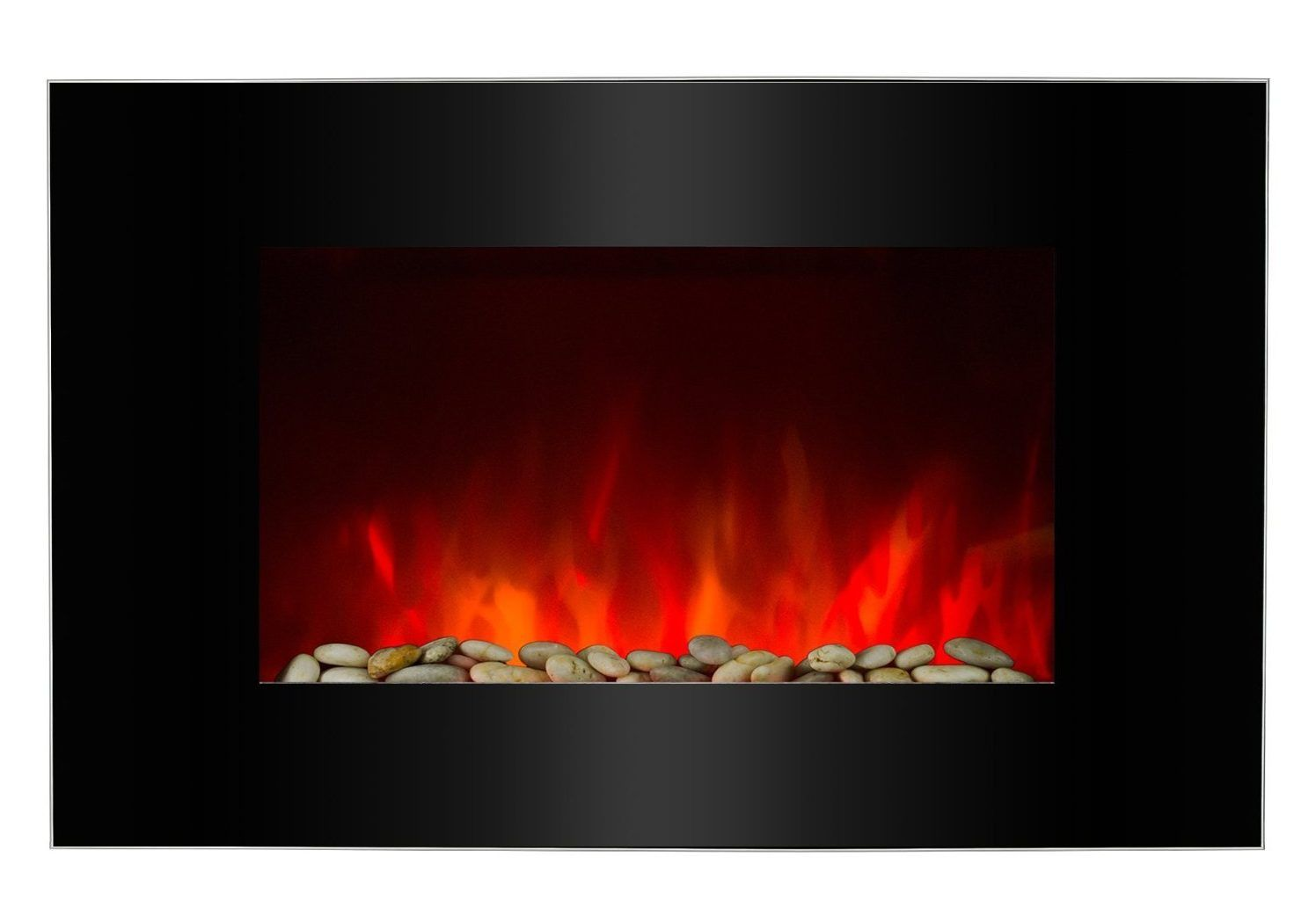 25 Fireplace Decorating Ideas With Gas Logs Electric Logs And Glass Rocks Indoor Electric Fireplace Fireplace Electric Fireplace