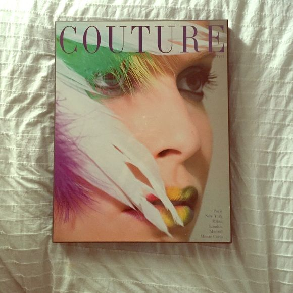 Couture Magazine, April 1965 wall art The perfect statement art ...