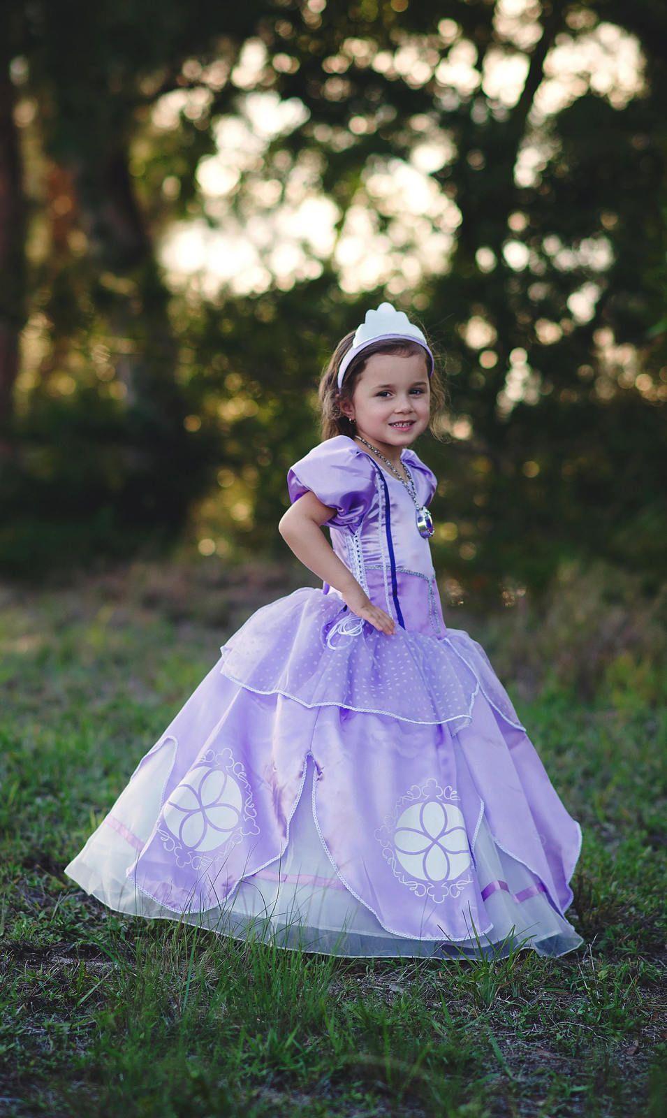 963e37119 Sofia Dress Disney Princess Inspired Sofia the First Costume - Kids, Girls,  Todd Disney' first little girl princess, Sophia the First!