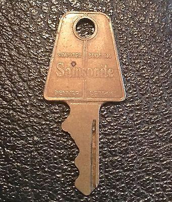 Vintage Samsonite Luggage Key 94 Shwayder Bros. Denver Detroit made in U.S.A  | eBay