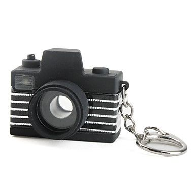 cámara llavero con linterna LED y efectos de sonido (color al azar) – USD $ 2.99