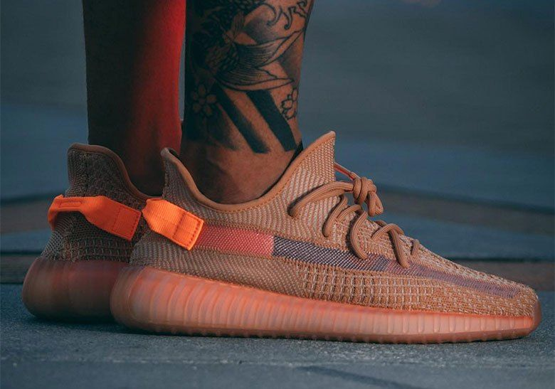 sports shoes b23fd 7fe06 adidas Yeezy 350 v2 Clay EG7490 Release Details  thatdope  sneakers  luxury   dope  fashion  trending