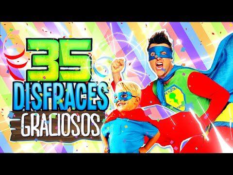 35 DISFRACES O COSPLAYS MAS GRACIOSOS Y LAMENTABLES - YouTube