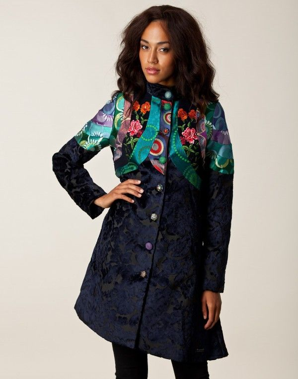 A very nice La Solista overcoat by Desigual . And a good site for browsing through lots of different jackets too!