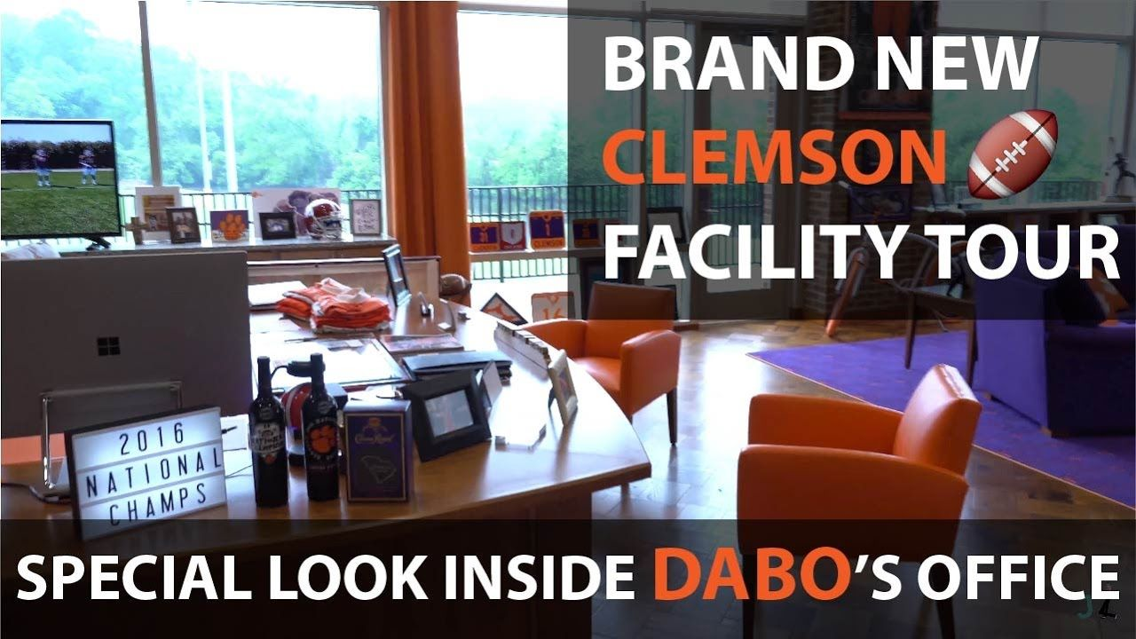 New Clemson Football Facility Exclusive Player S Tour Clemson Football Clemson Facility