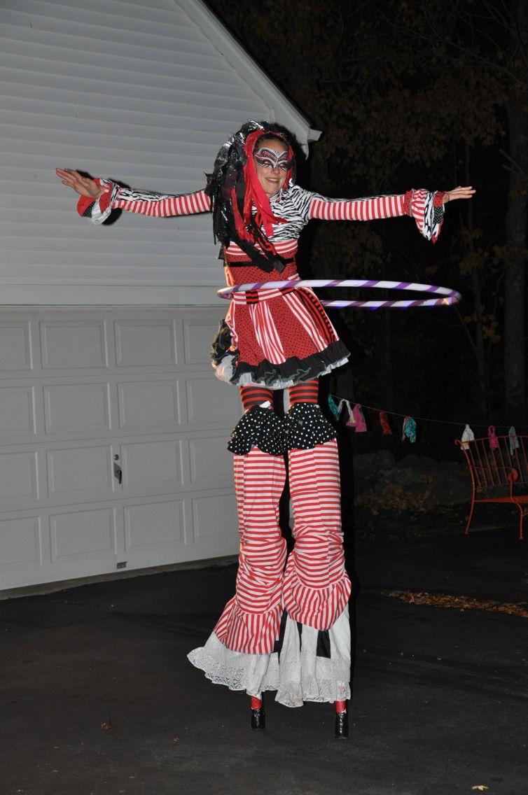 Stilt Walker Freak Show Carnival | Halloween party 2015 ideas ...