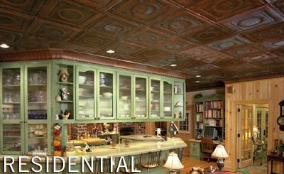 Tin Ceiling Tiles By M Boss Inc Tin Ceilings Manufacturer