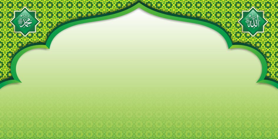 Background Hijau Islami Background Islami Hd