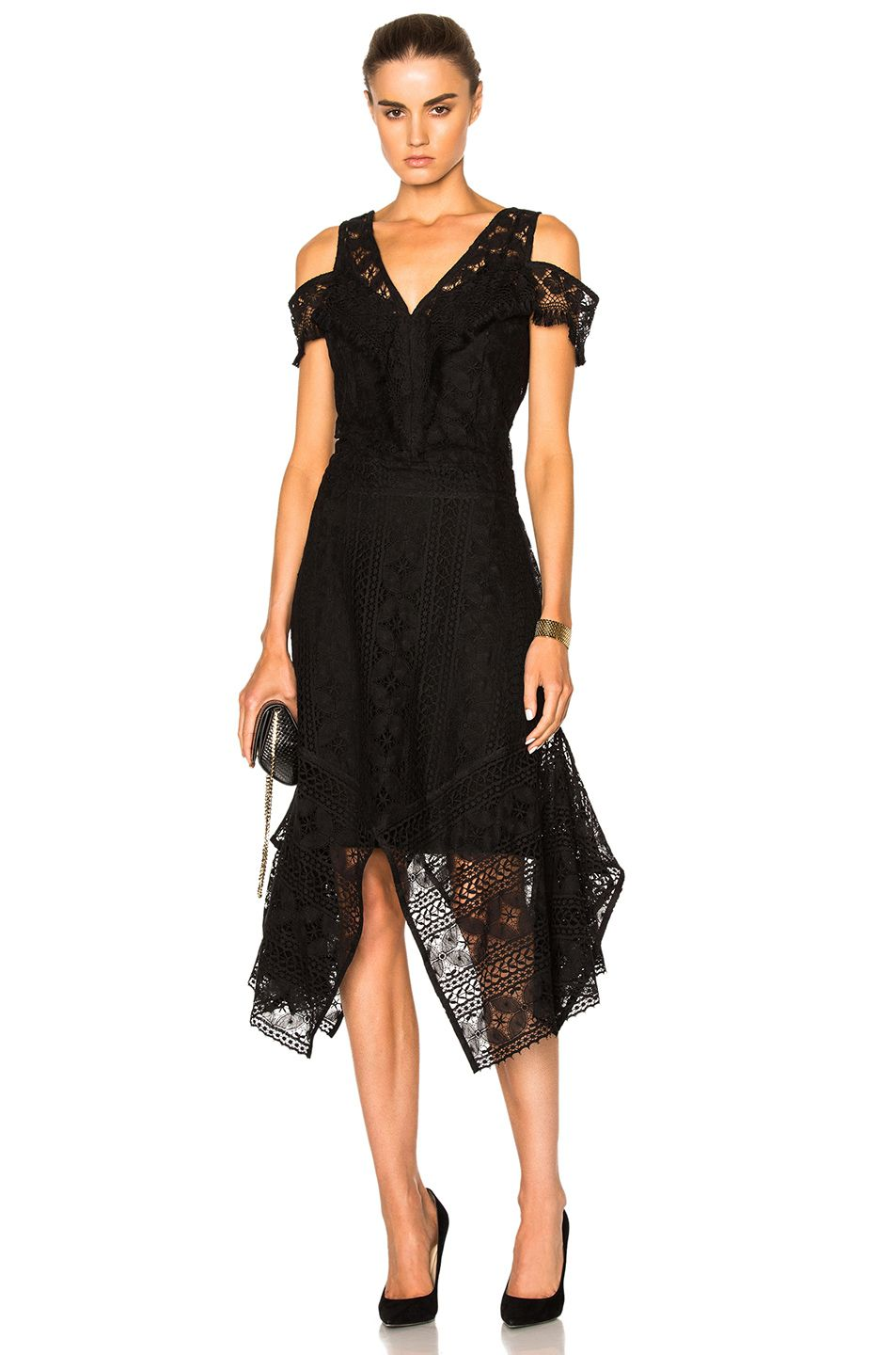Image of rodebjer ranaja lace dress in black my style