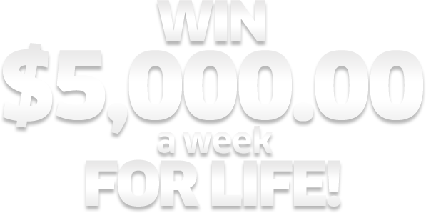 Publishers Clearing House $5,000 a week for life contest