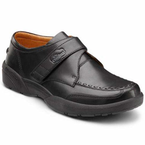 Mens 4e black dress shoes