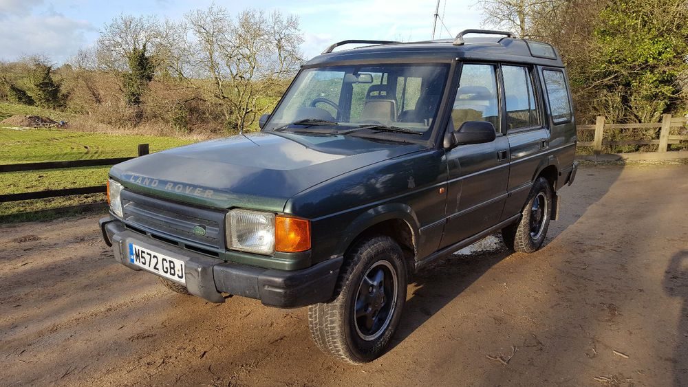 eBay: Land Rover Discovery 300TDI Automatic 1995 | 1990's Cars ...