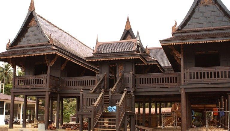 Ruen thai traditional thai house case for Traditionelles thai haus
