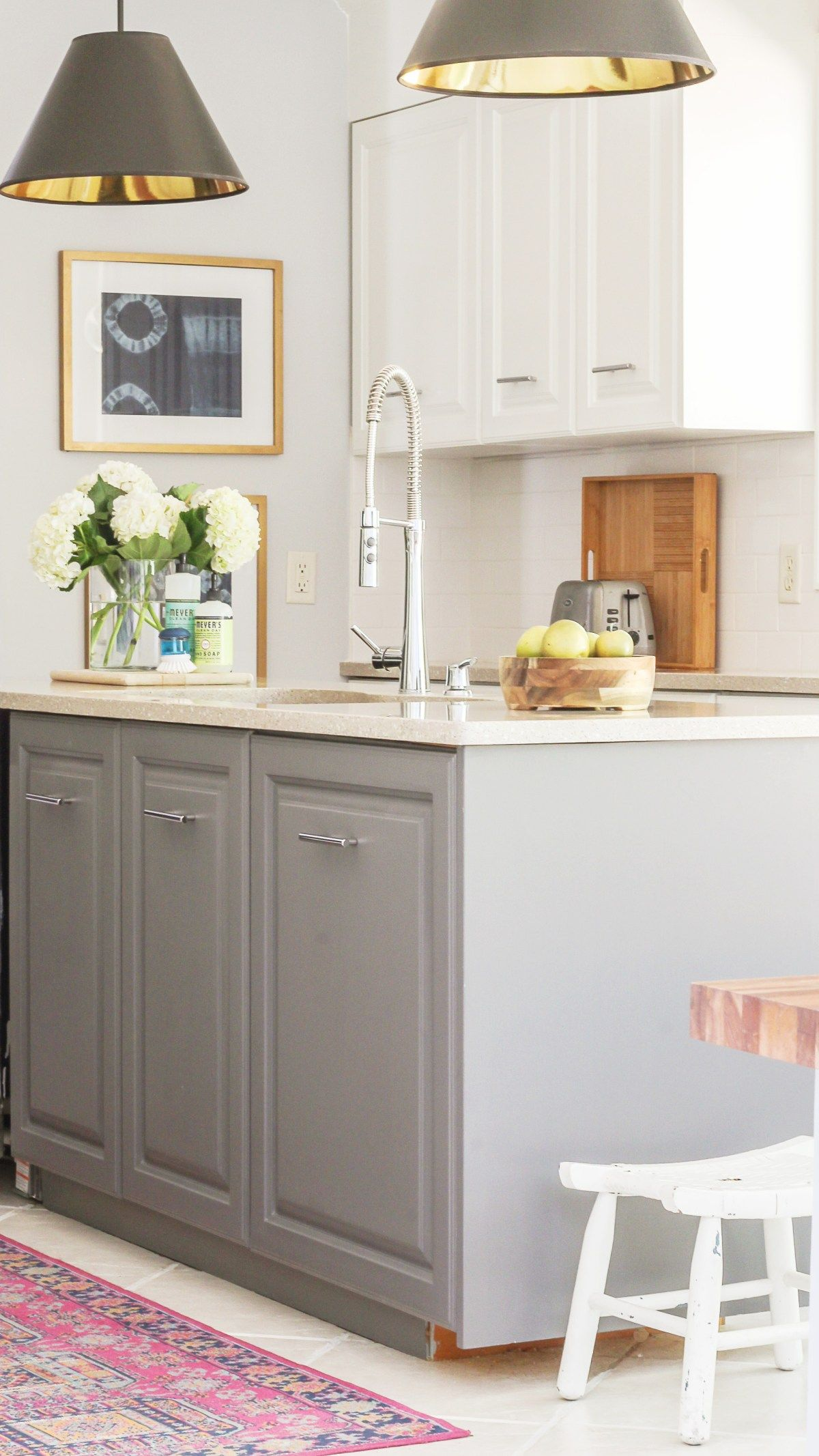 Fastest Way To Paint Kitchen Cabinets The Ultimate Hack Milk Paint Kitchen Cabinets Painting Kitchen Cabinets Refurbished Kitchen Cabinets