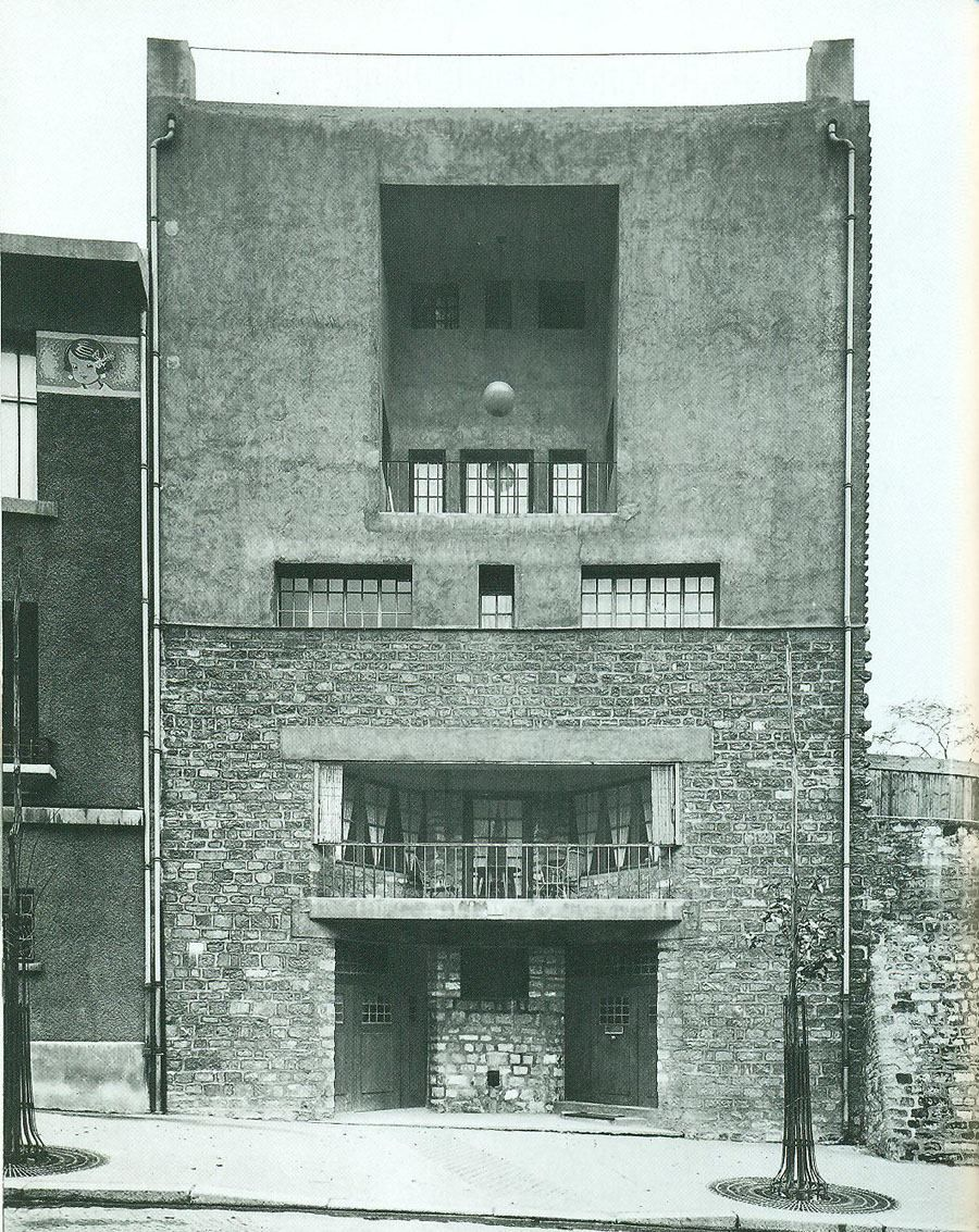 Tristan Tzara House, Paris, (1926) by Adolf Loos.