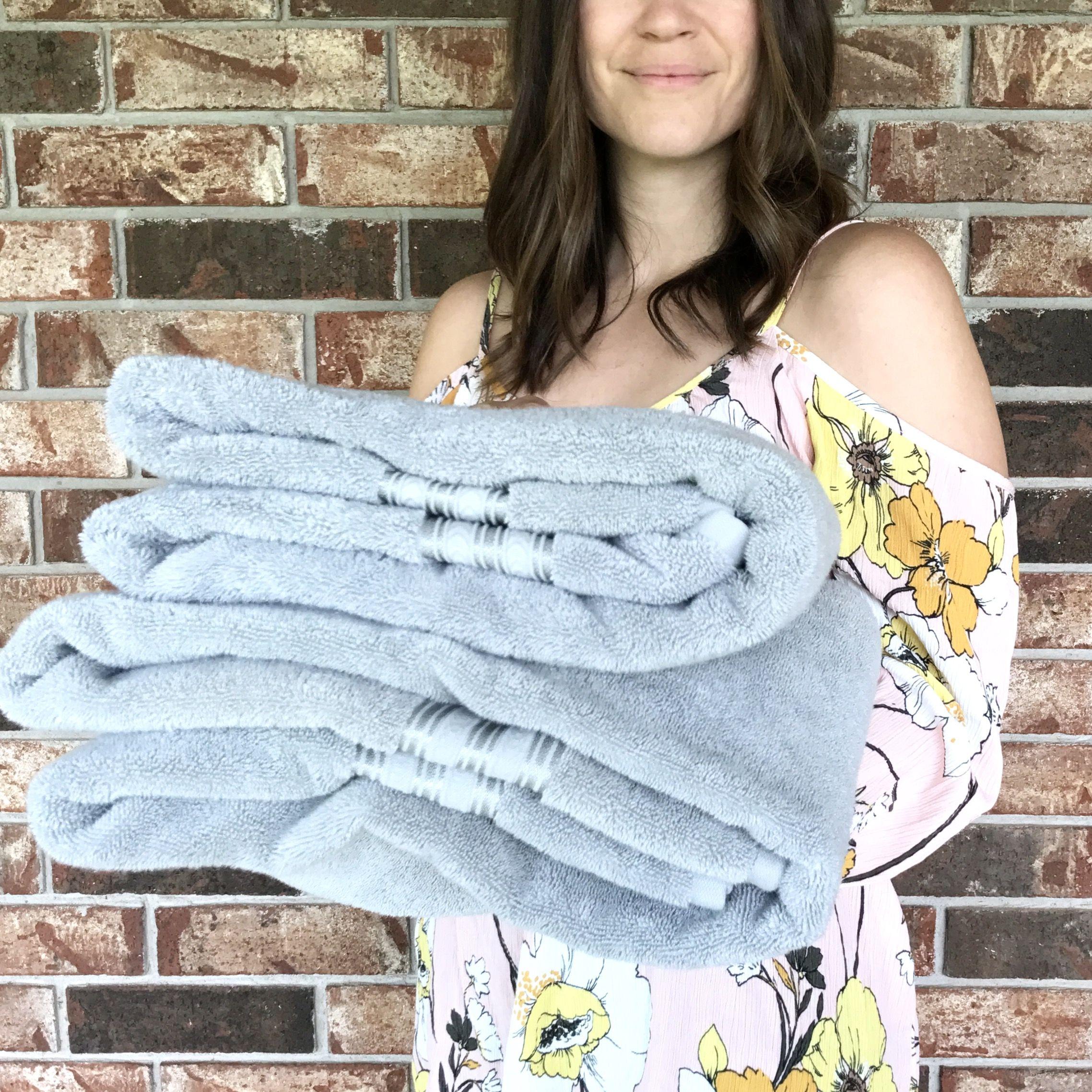 Thick Plush Towels Via WhoaWaitWalmart Boost Your Bathroom - Plush towels for small bathroom ideas