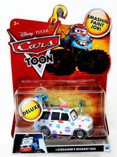 Disney / Pixar CARS TOON 155 Die Cast Car Oversized Vehicle IScreamers Biggest Fan