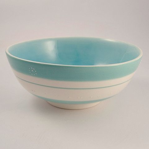 Large salad Bowl - stripe – Sourced