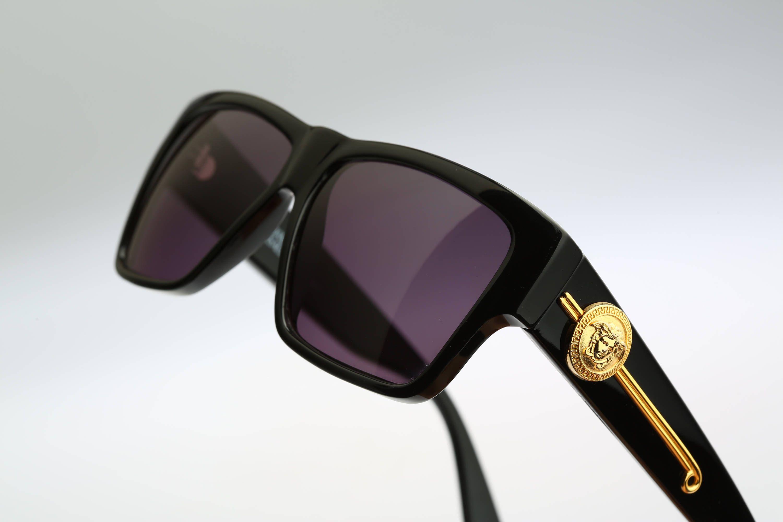 Gianni Versace Mod 372/DM Col 852 BK / Vintage sunglasses / NOS ...