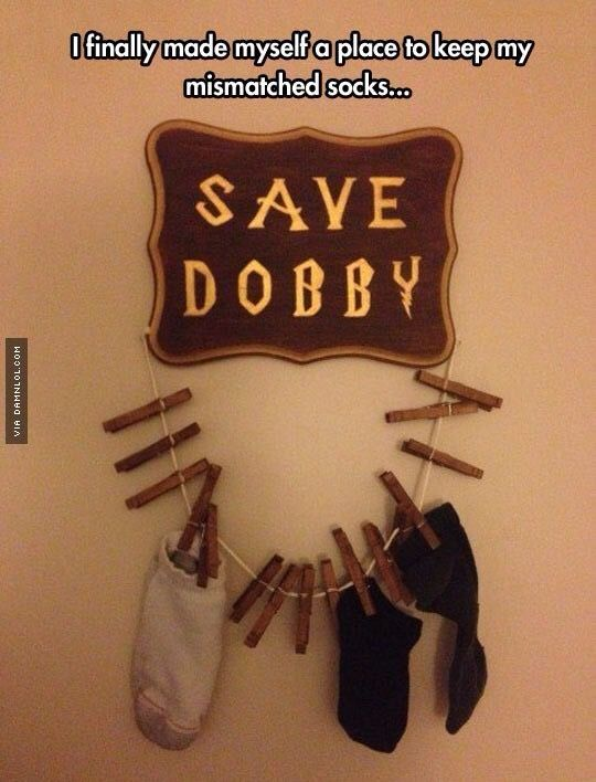 Harry Potter Laundry Room Signs