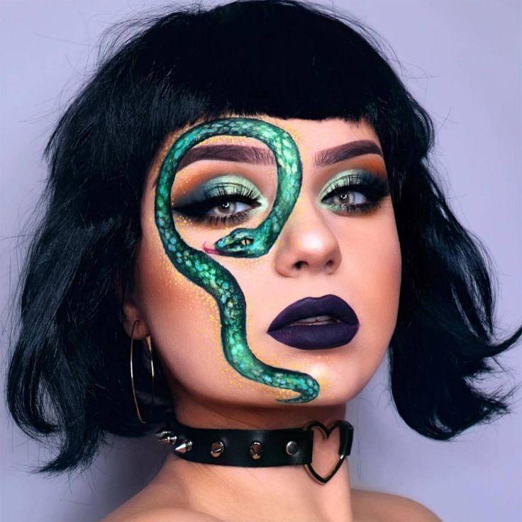 Glam meets gore: Pretty Halloween makeup inspiration